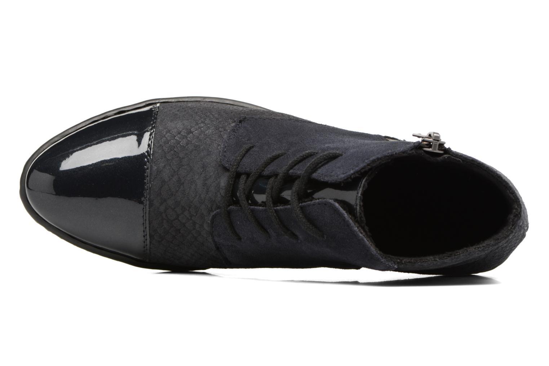 Bottines et boots Rieker Ivy 50241 Bleu vue gauche