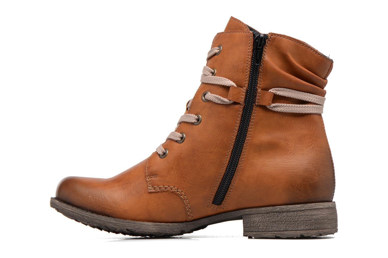 Bottines et boots Rieker Barbara 70829 Marron vue face