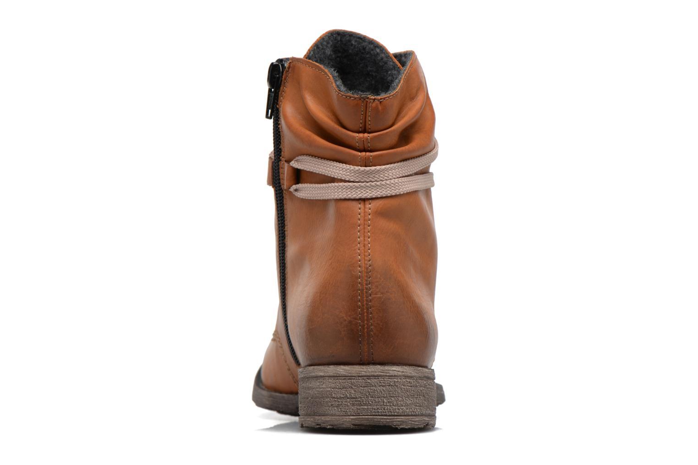 Bottines et boots Rieker Barbara 70829 Marron vue droite