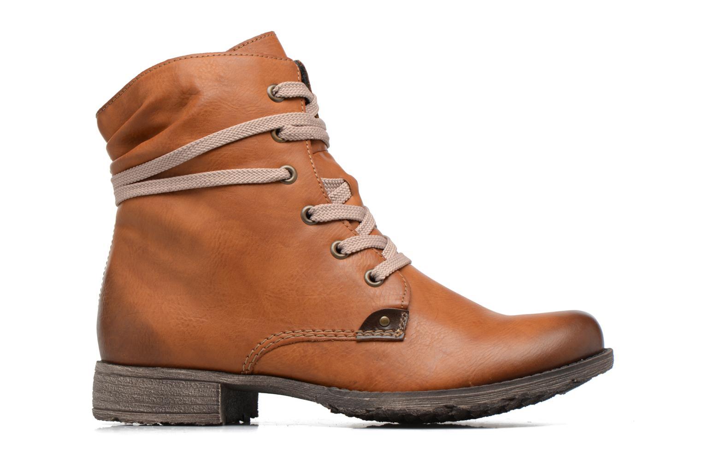Bottines et boots Rieker Barbara 70829 Marron vue derrière