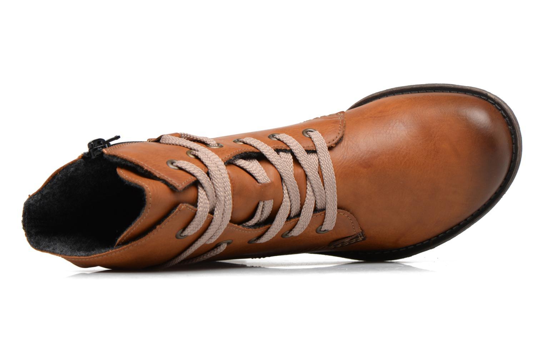 Bottines et boots Rieker Barbara 70829 Marron vue gauche