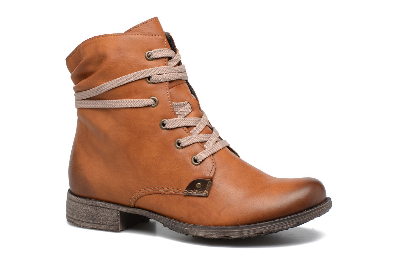 Ankelstøvler Rieker Barbara 70829 Brun detaljeret billede af skoene