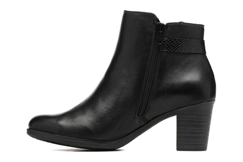 Bottines et boots Rieker Val Y8963 Noir vue face