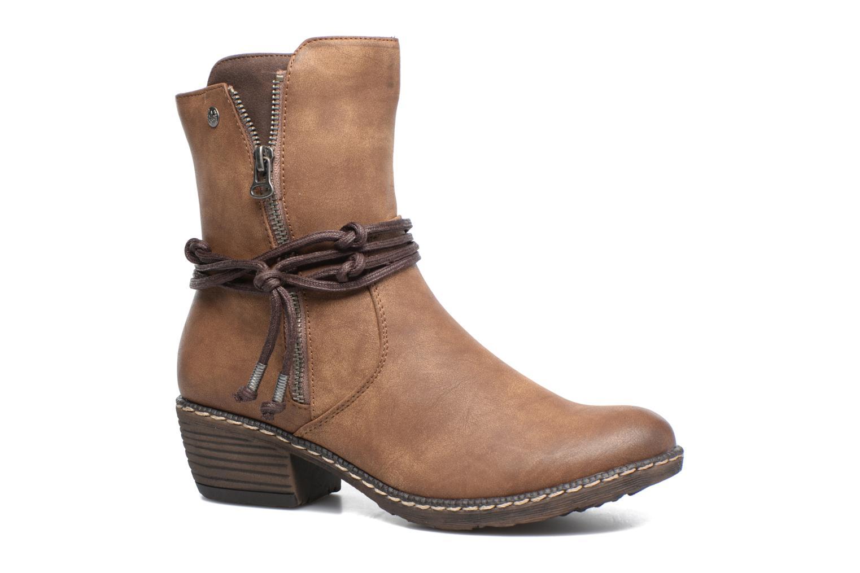 Grandes descuentos últimos zapatos Rieker Fania K1467 (Marrón) - Botines  Descuento