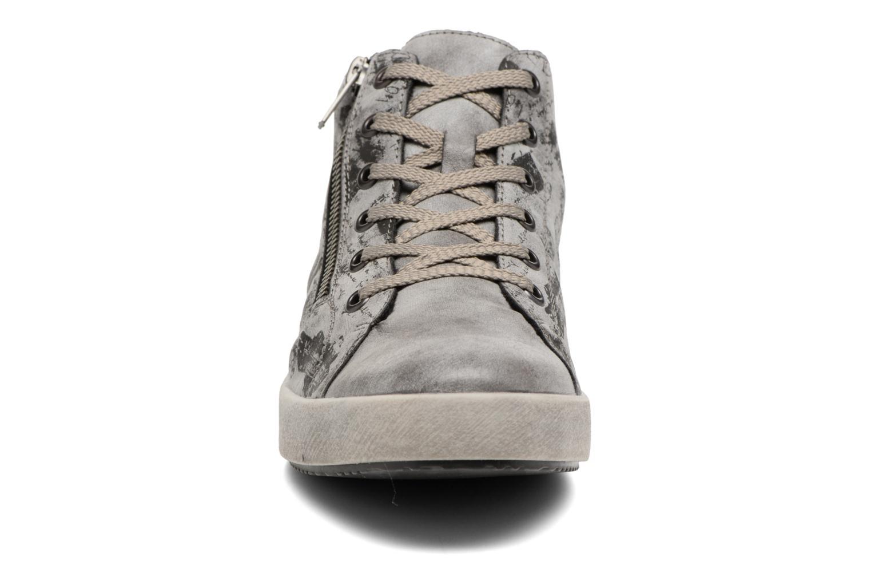 Baskets Rieker Donna K5272 Gris vue portées chaussures