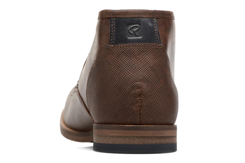 Chaussures à lacets Redskins Alerte Marron vue droite