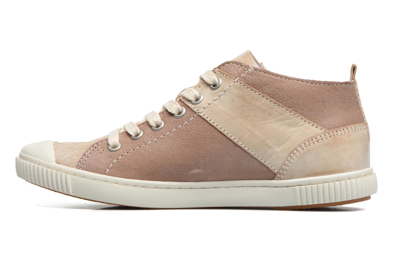 Sneakers Pataugas Bean Marrone immagine frontale