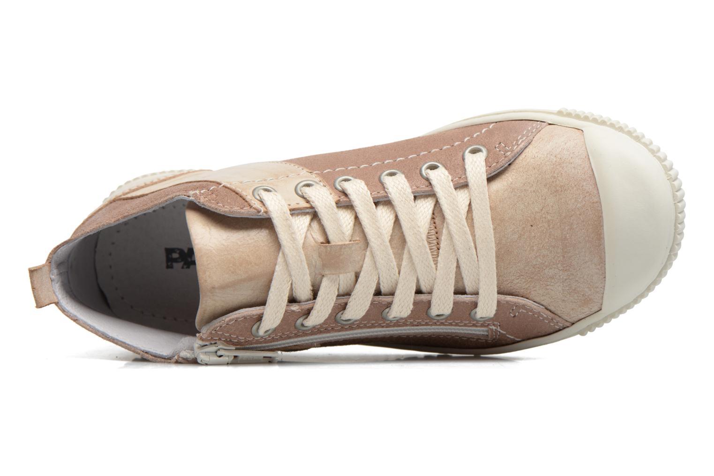 Sneakers Pataugas Bean Marrone immagine sinistra