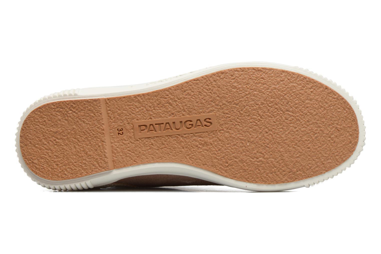 Sneakers Pataugas Bean Marrone immagine dall'alto