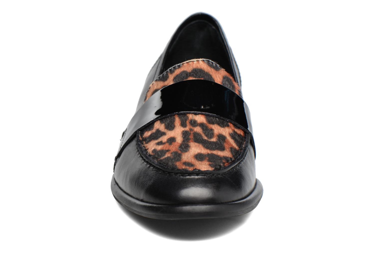 Mocassins Georgia Rose Loupom Noir vue portées chaussures
