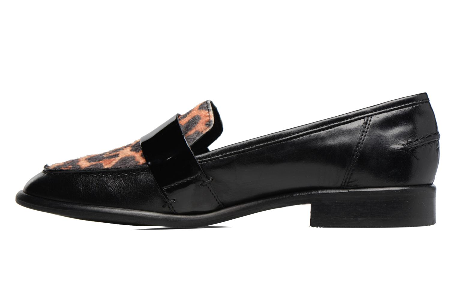 Loafers Georgia Rose Loupom Black front view