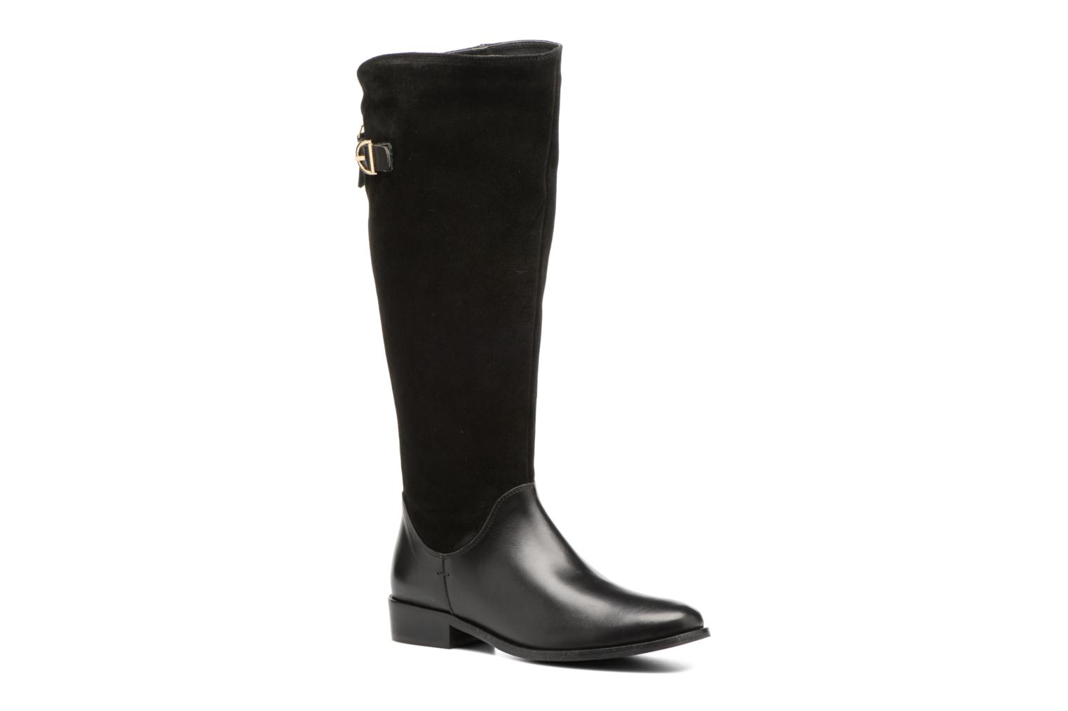 Boots & wellies Georgia Rose Loupy Black detailed view/ Pair view