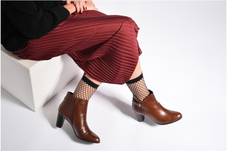 Stiefeletten & Boots Georgia Rose Lylia braun ansicht von unten / tasche getragen