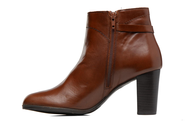 Boots en enkellaarsjes Georgia Rose Lylia Bruin voorkant