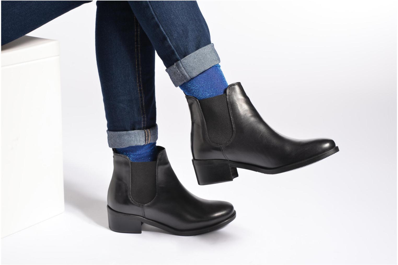 Stiefeletten & Boots Georgia Rose Ladou schwarz ansicht von unten / tasche getragen