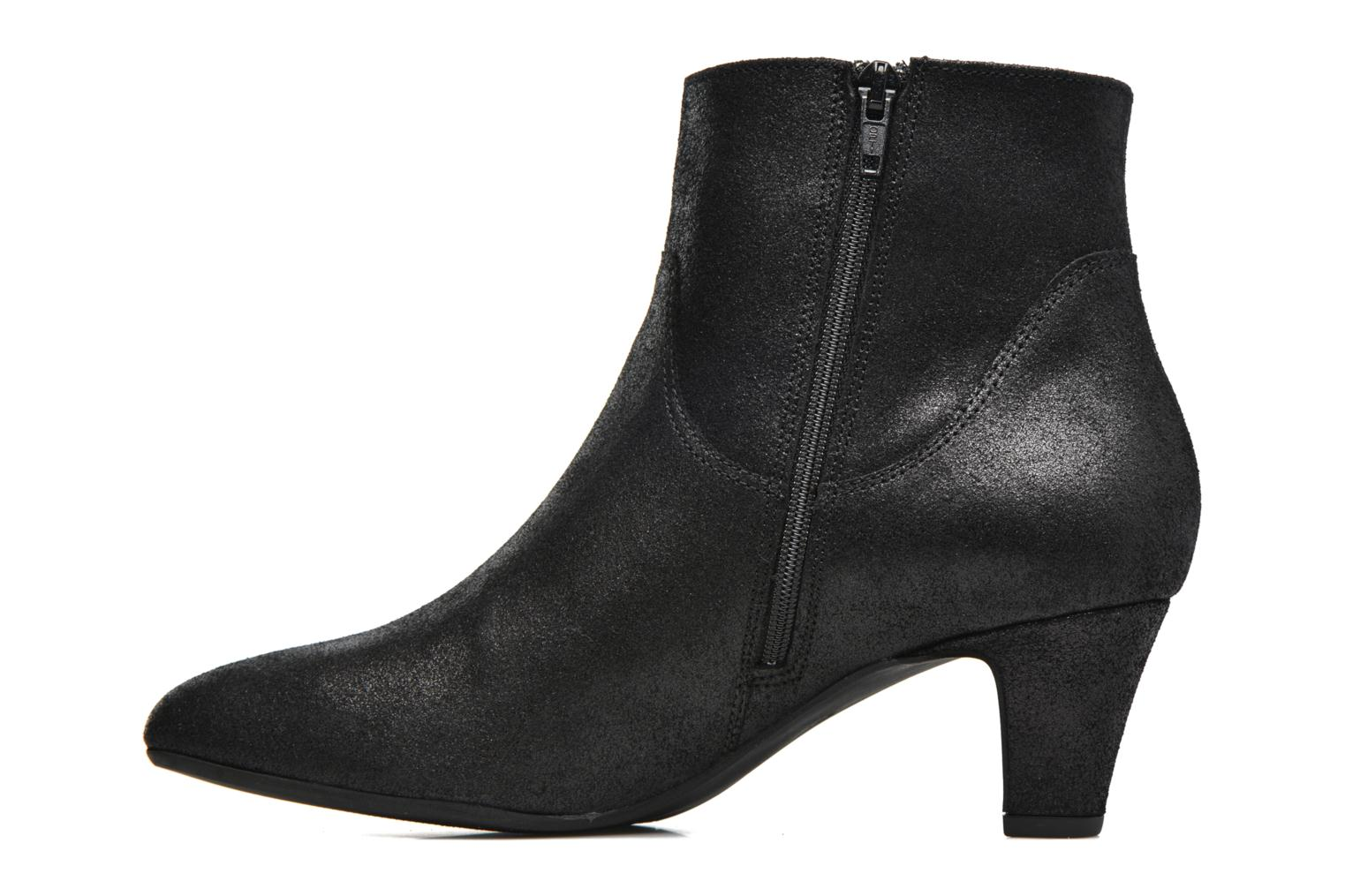 Ankle boots Georgia Rose Lovana Black front view