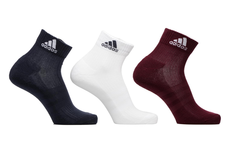Chaussettes et collants Adidas Performance 3S PER AN HC 3P Multicolore vue détail/paire