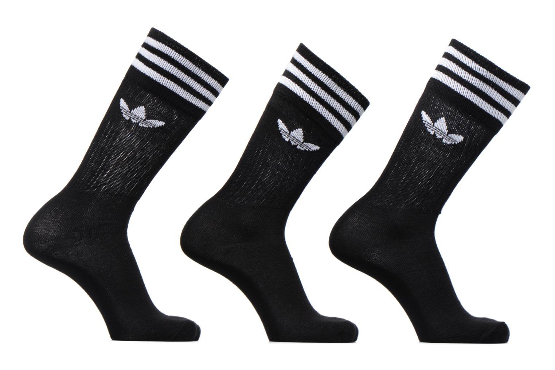 Chaussettes et collants Adidas Performance SOLID CREW SOCK Noir vue détail/paire