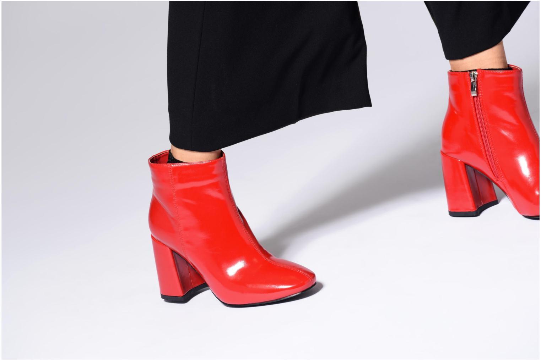 Stiefeletten & Boots I Love Shoes CORINA schwarz ansicht von unten / tasche getragen