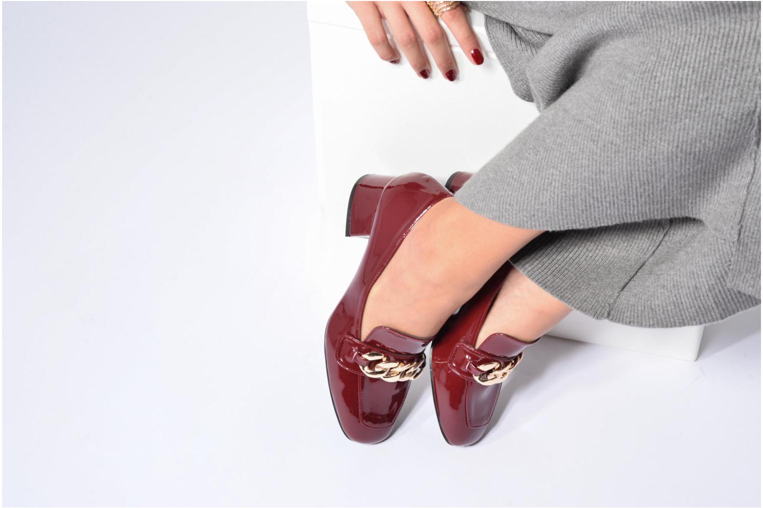 Loafers I Love Shoes CELINA Silver view from underneath / model view