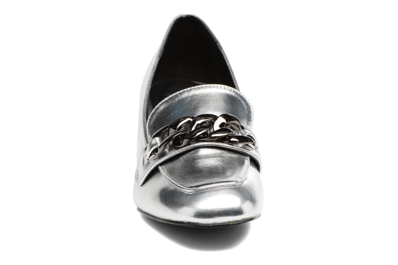 Mocassini I Love Shoes CELINA Argento modello indossato