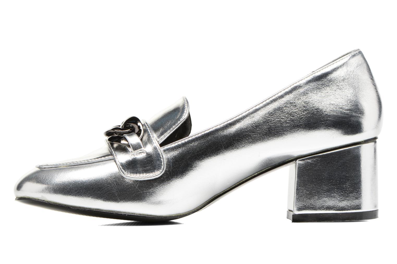 Mocasines I Love Shoes CELINA Plateado vista de frente