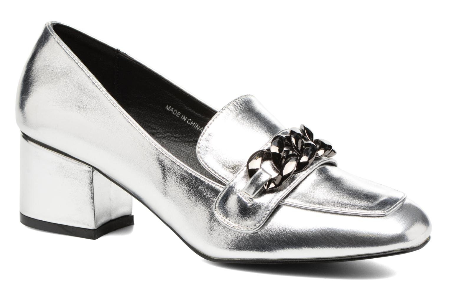 Loafers I Love Shoes CELINA Silver detailed view/ Pair view
