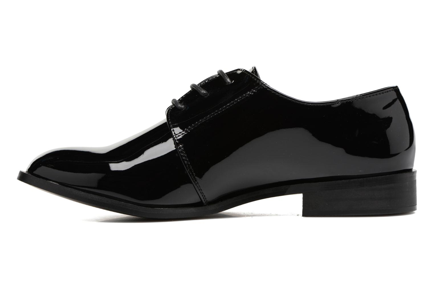 Lace-up shoes I Love Shoes CLEMIA Black front view