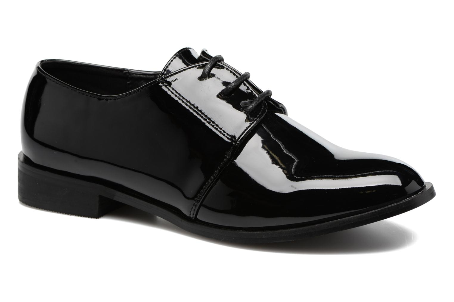 Lace-up shoes I Love Shoes CLEMIA Black detailed view/ Pair view
