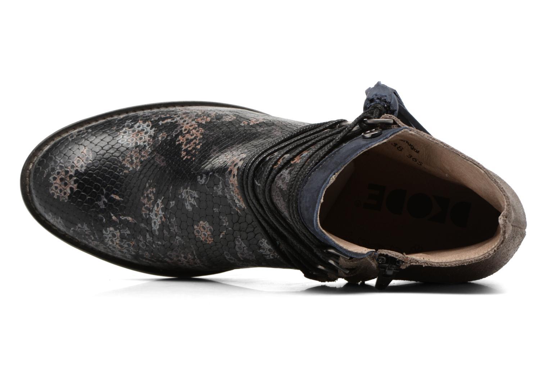 Bottines et boots Dkode Caprice Noir vue gauche