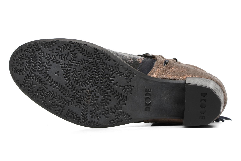 Bottines et boots Dkode Caprice Noir vue haut