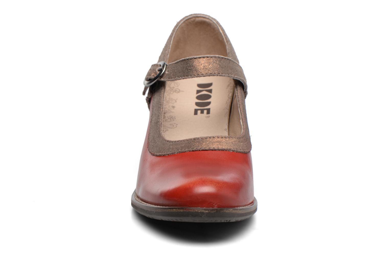 Escarpins Dkode Cybelle Rouge vue portées chaussures