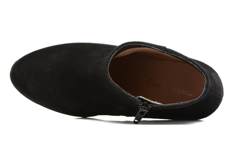 Bottines et boots Mellow Yellow Caflowery Noir vue gauche