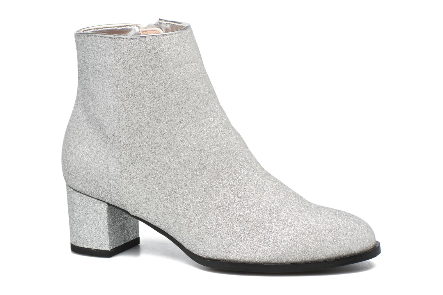 Marques Chaussure femme Mellow Yellow femme Cagliglita Argent Glitter silver