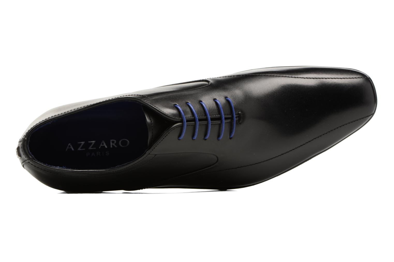Chaussures à lacets Azzaro GEORGIL Noir vue gauche