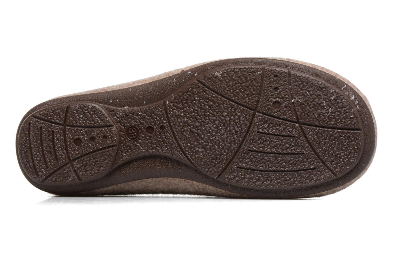 Pantoffels Rondinaud Terrette Beige boven