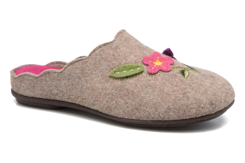 Pantoffels Rondinaud Terrette Beige detail