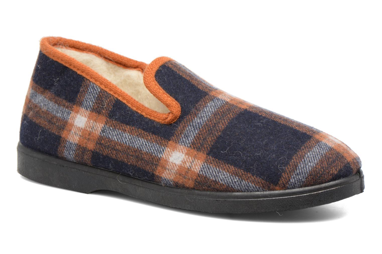 Pantoffels Rondinaud Dolus Blauw detail