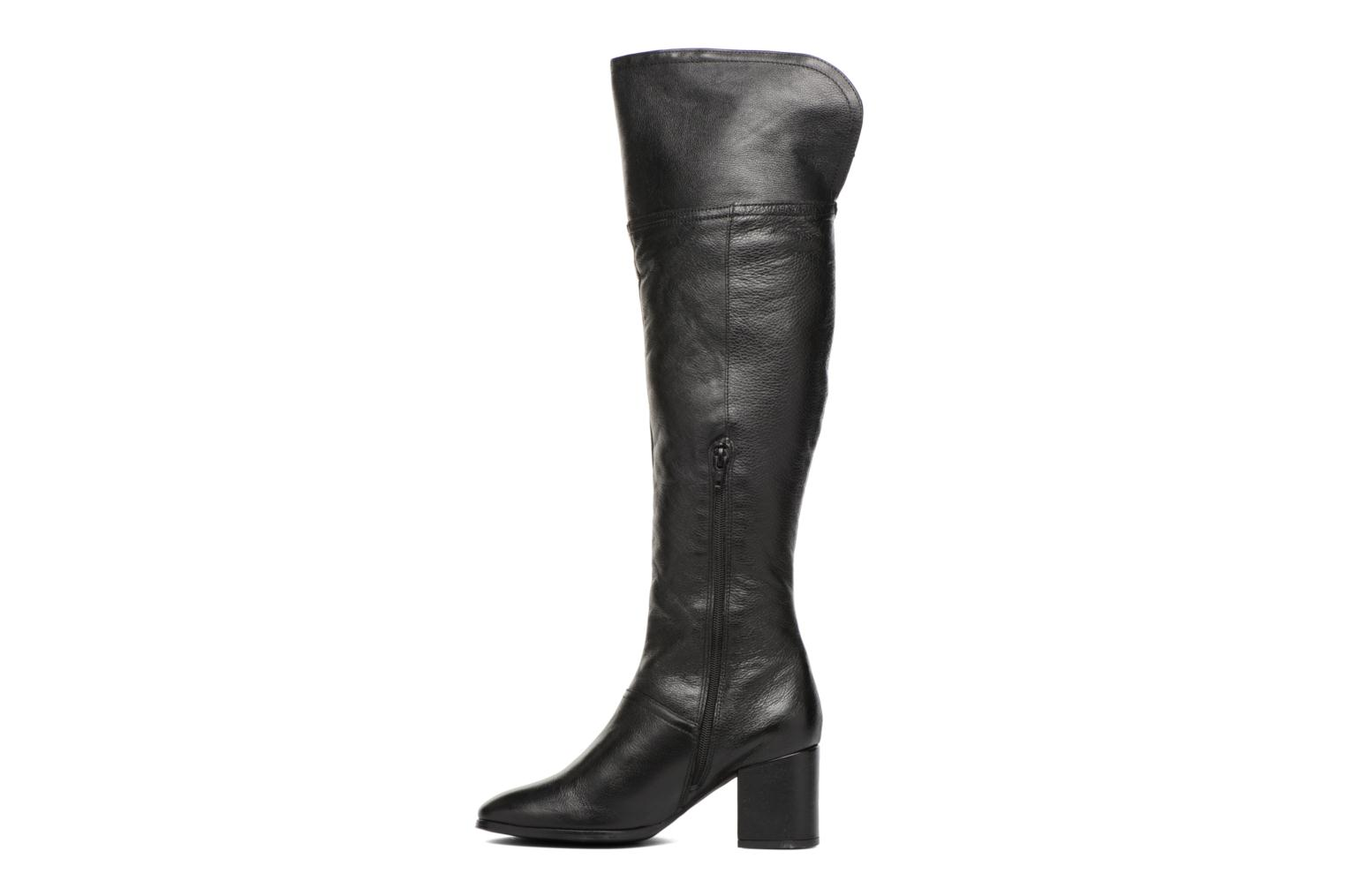 Boots & wellies Georgia Rose Olaf Black front view