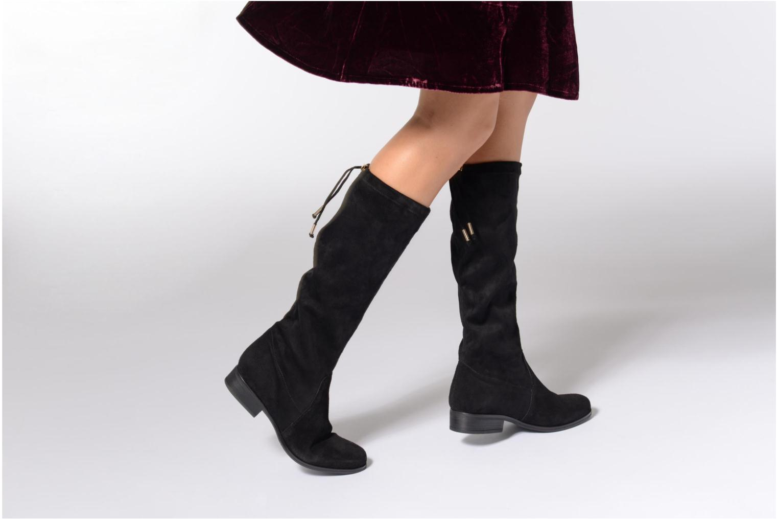 Boots & wellies Georgia Rose Opale Black view from underneath / model view