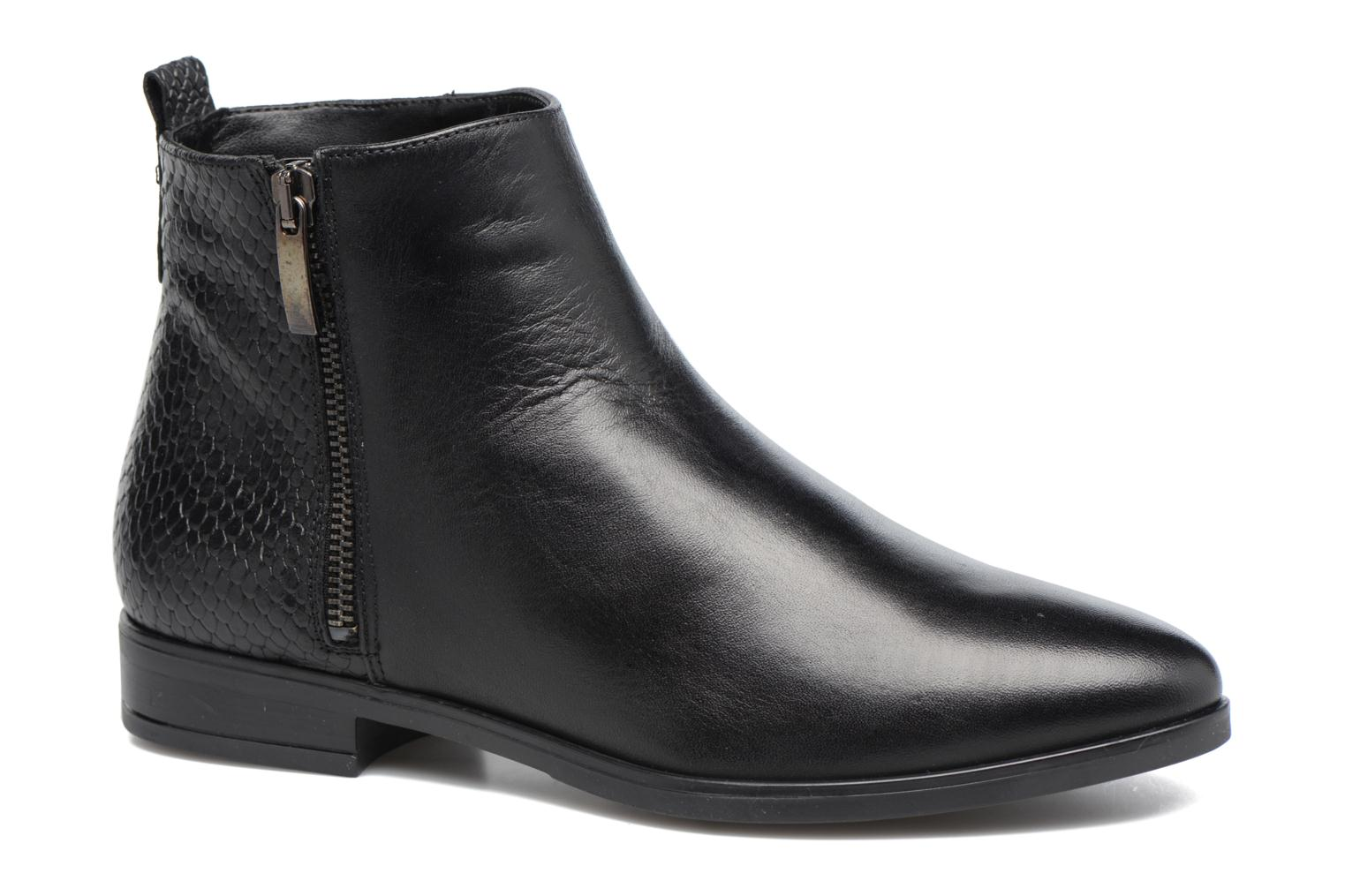 Ankle boots Georgia Rose Olimpe Black detailed view/ Pair view