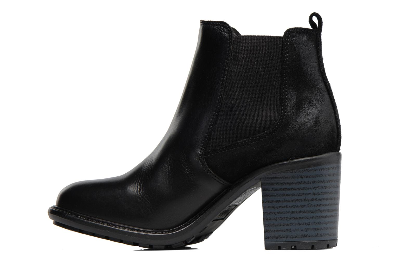 Bottines et boots Buffalo Julie Noir vue face