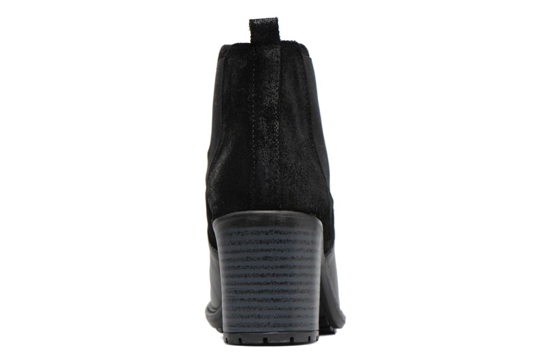 Bottines et boots Buffalo Julie Noir vue droite