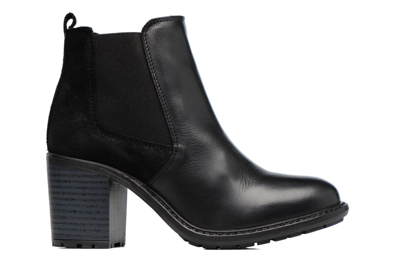 Bottines et boots Buffalo Julie Noir vue derrière
