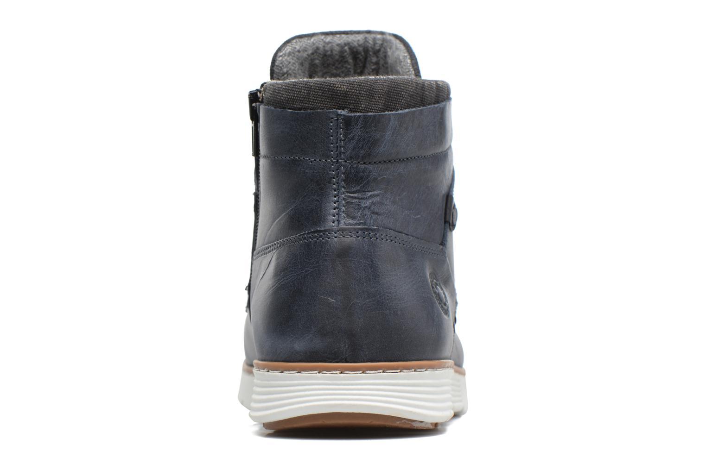 Bottines et boots Bullboxer COUSIN DE JASON Bleu vue droite