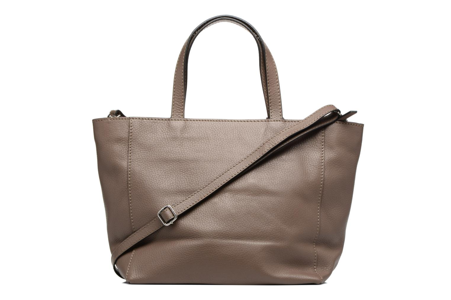 Sacs à main Loxwood Cabas Parisien Mm Zip Marron vue face