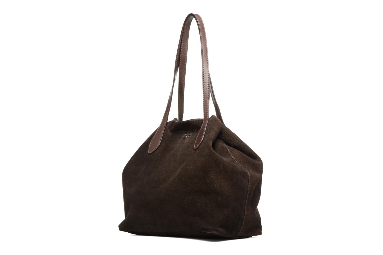 Handtaschen Loxwood Sac Shopper braun schuhe getragen