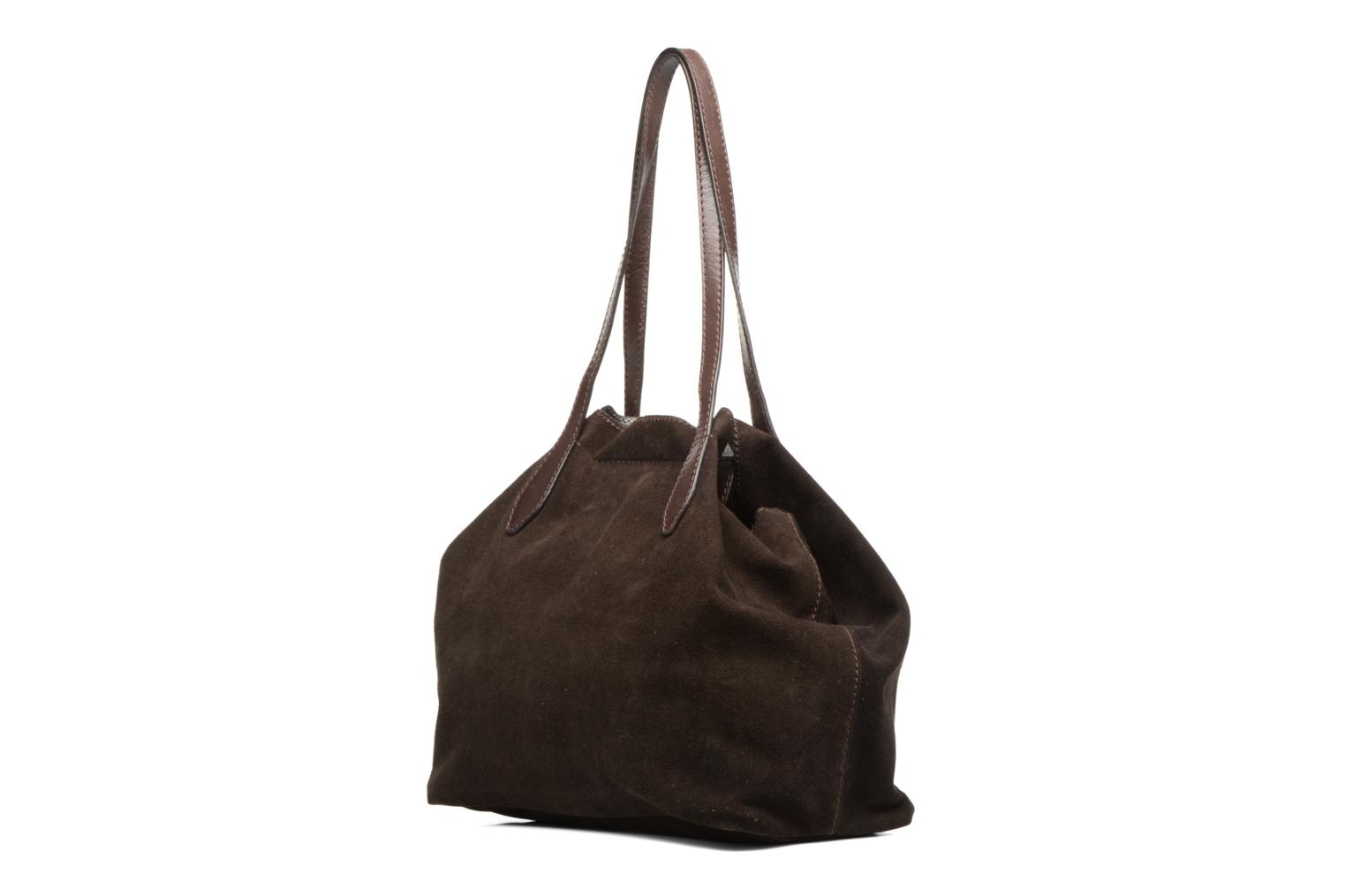 Handbags Loxwood Sac Shopper Brown view from the right