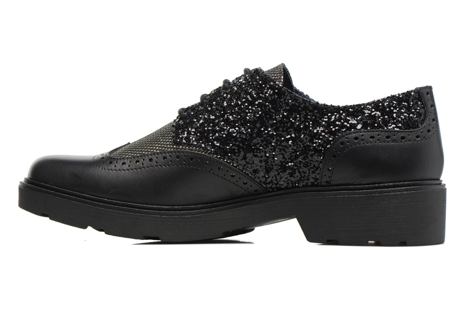 Lace-up shoes Anaki Nicky Black front view