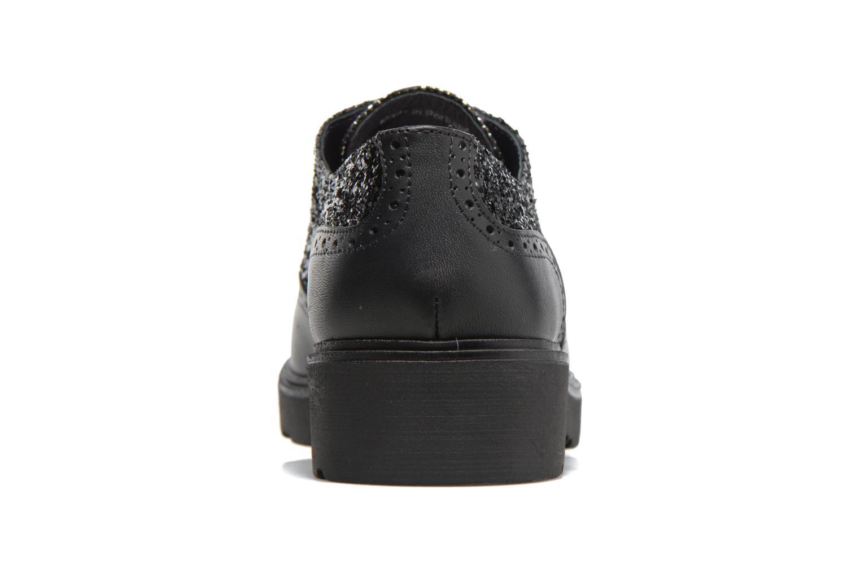 Zapatos con cordones Anaki Nicky Negro vista lateral derecha
